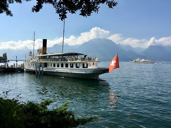 La Suisse - Belle Epoque - paddle steamboat