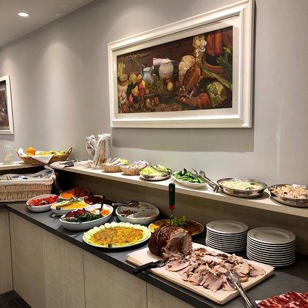 Sala da pranzo e buffet