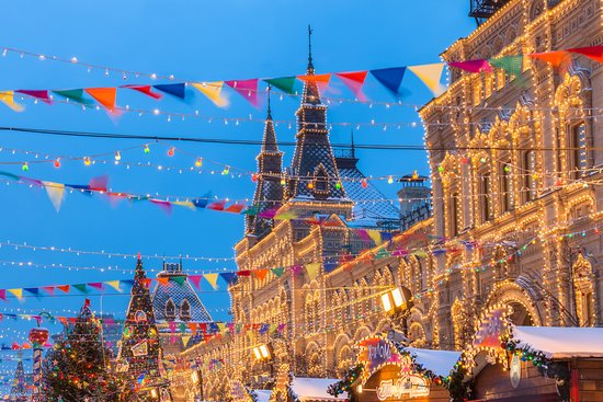Москва, Россия: Is there anything more festive than a Russian holiday market? 😍 What's your favorite winter activity? #culture #arts