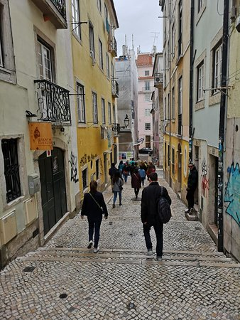 Lisbon Chill-Out Free Tour: The Tour lasted a bit more then 3 hours on walk but honestly, you wont get tired bec it keeps you entertained every minute.