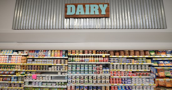 Piggly Wiggly Apalachicola: Extensive line of yogurts, including soy-based, almond-based and cashew-based yogurts!