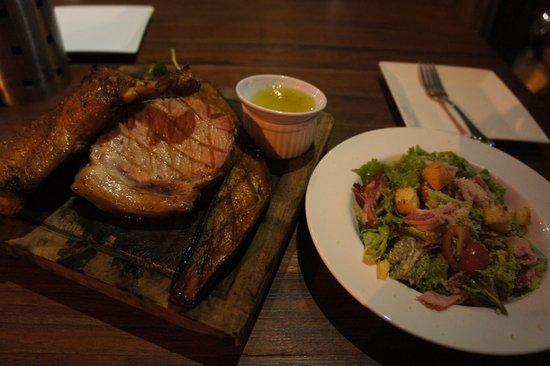 BBQ & Beer De Salita: Combo B (initial stage) - beef+rice missing