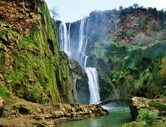 A day trip to waterfall in Ouzoud from Marrakech with Sahara Morocco Tour