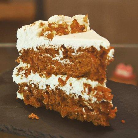 Carrot cake vegano