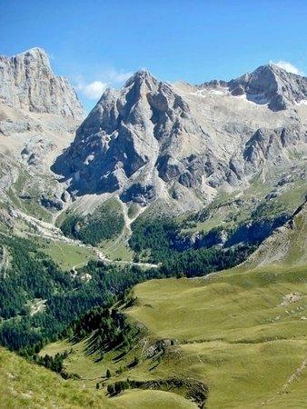 La Val Contrin dal Passo San Nicolò