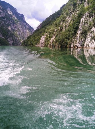 Confluence of river ZEPA to Drina