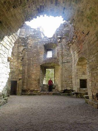Craignethan Castle: Inside