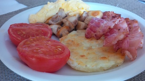 Chalet Le Sherpa: Cooked Breakfast included