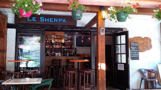 Chalet Le Sherpa: Bar Le Sherpa