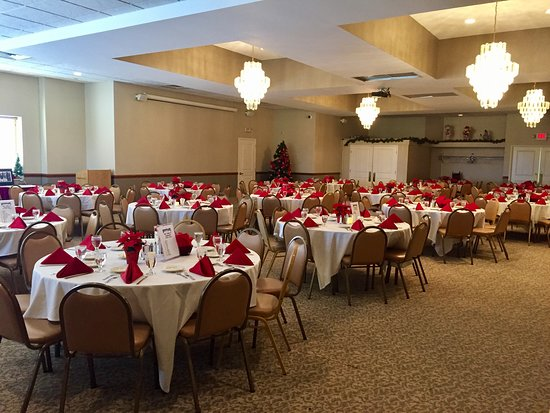 Our banquet room books up fast for the holidays. It's never too early to book for 2019! Call Nicole at 412-403-3317