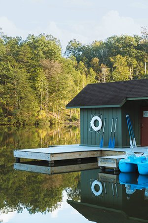 Lake access with water rentals, swimming, and fishing