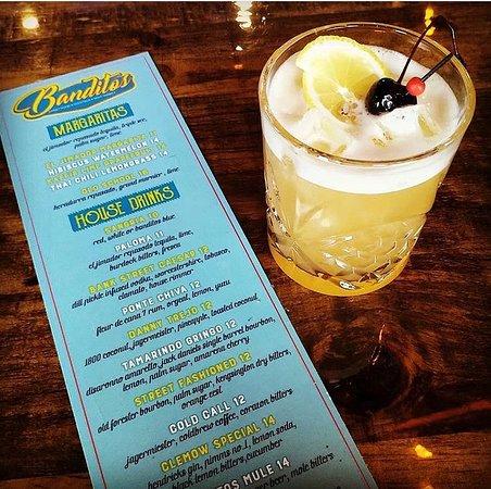 New cocktail list