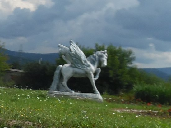 Sculpture Winged Horse