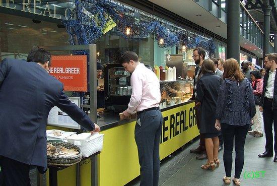 Old Spitalfields Market: The real Greek