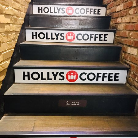 Сеул, Южная Корея: Holly's Coffee Séoul