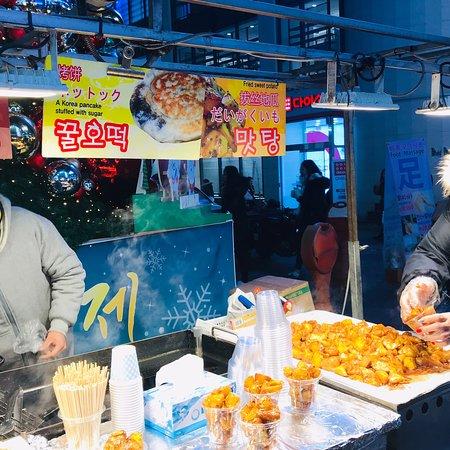 Seoul night Market