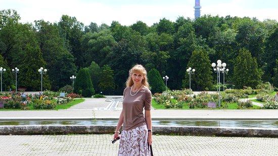 Розарий Ботанического сада. Москва