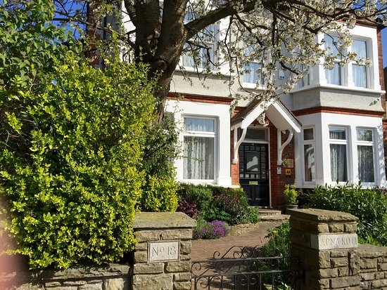 Croham Park Bed & Breakfast: Street view: 18 Croham Park Avenue - beautiful in the spring