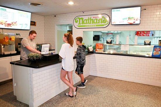 Yogi Bear's Jellystone Park Camp-Resort Luray: Nathan's Famous