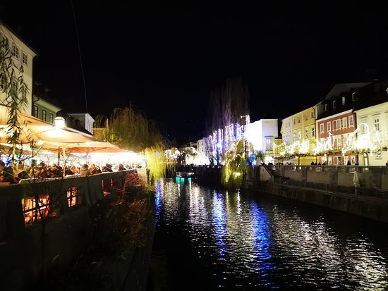 Tromostovje (Drei Brücken) Foto
