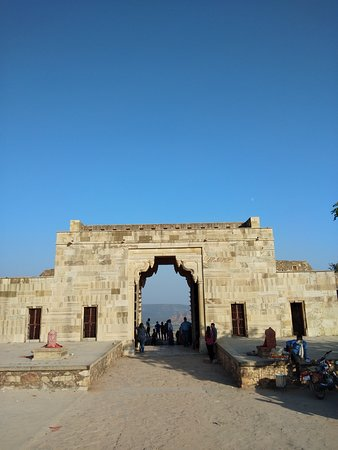 Inside Chittaurgarh Fort