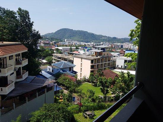 Grand View: vur du balcon arrière