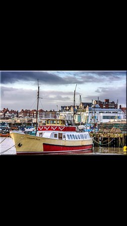 Harbour a short walk for boat trips on the Yorkshire Belle