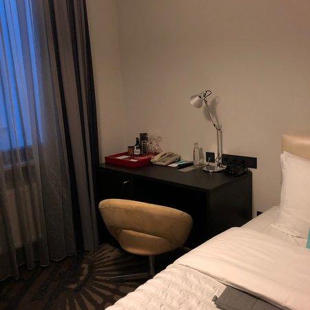 Very small room