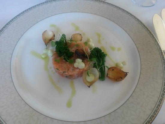 Ashdown Park Hotel & Country Club: salmon tartare
