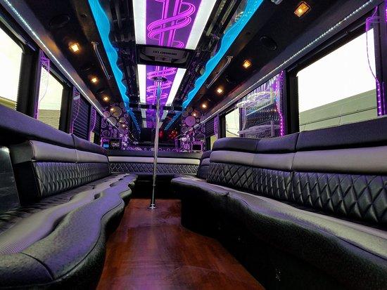 New Orleans, LA: 28 Passenger Party Bus