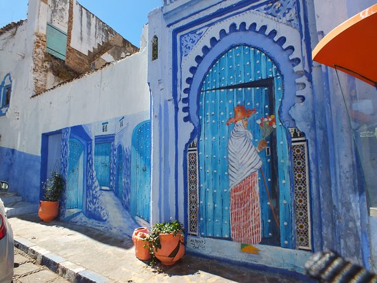Chefchaouen, the blue pearl of Morocco.