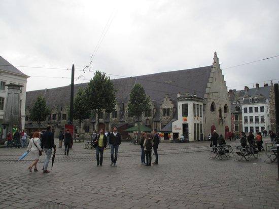 Ghent, Belgium: Gent, Groentenmarkt, Groot Vleeshuis