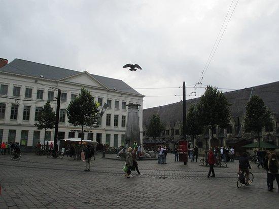 Ghent, Belgium: Gent, Pump on Groentenmarkt