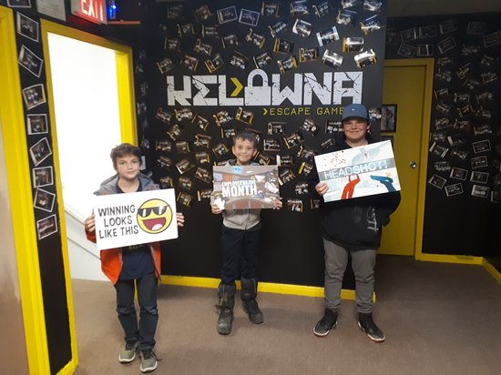Xperience Kelowna Escape - Escape Room & Virtual Reality Arcade: Player Pics