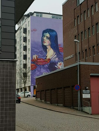 Karta Skulpturer Boras.No Limit Street Art Boras Boras Sverige Omdomen