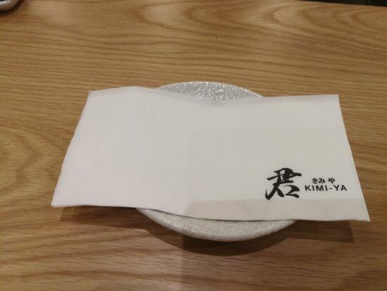 Kimi Ya: napkin