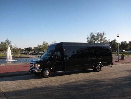 New Orleans, LA: 20 Passenger Federal Party Bus The Executive Party Bus