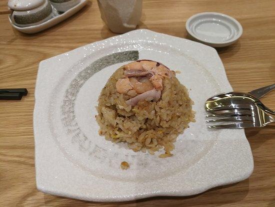 Kimi Ya: seafood fried rice