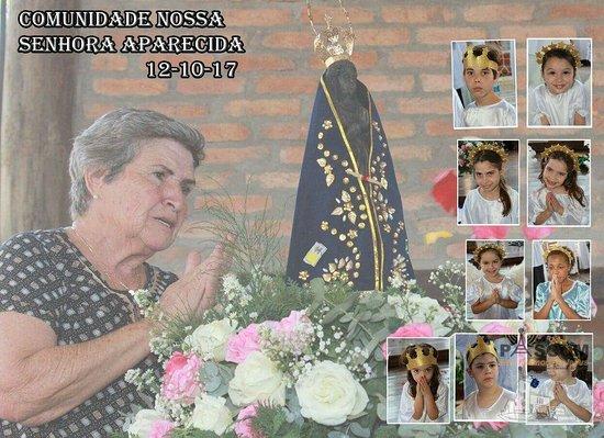 Campo Limpo Paulista, SP: Coroação de Nossa Senhora Aparecida
