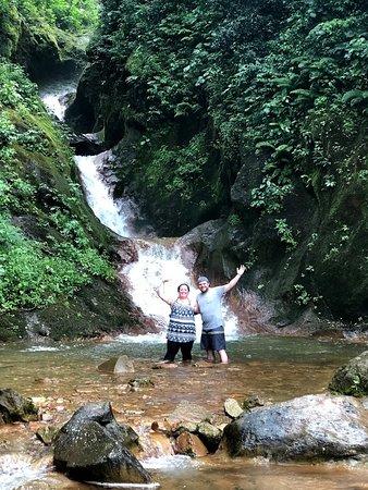 Maleku Tours: Waterfall at Miravalles Volcano