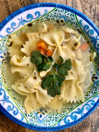 Home Made Chicken Noodle Soup