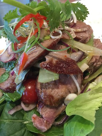 Chim Thai: Spicy beef salad - so fragrant, spicy and full of flavour. Favourite dish ever!