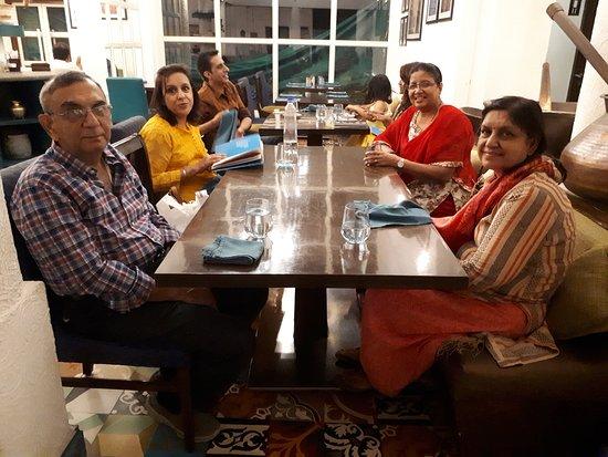 Bombay Brasserie: FRIENDS GET TOGETHER