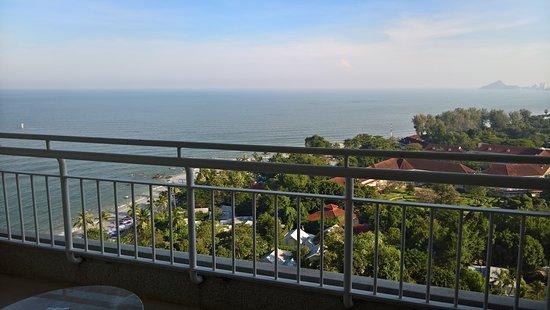 Hilton Hua Hin Resort & Spa: View from balcony