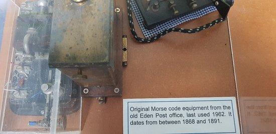 Communications via Morse Code