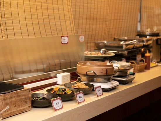 APA Hotel Himeji Eki Kita: 朝食メニューの一例