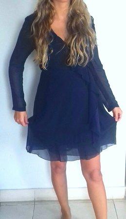 Wrap dress made by Nyoman