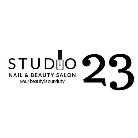 Studio 23 Nail & Beauty Salon: Salon main signboard
