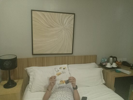 Z Pad Residences: The bed good for 2.