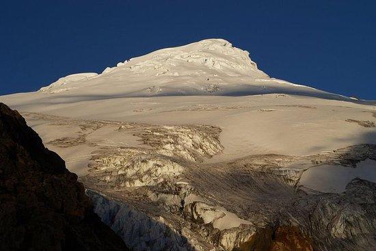 Marché d'Otavalo et volcan de...